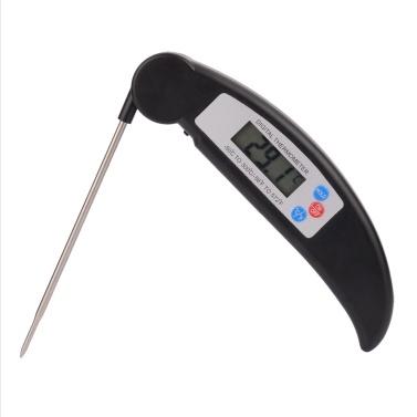 Faltbares Edelstahlsonden-Lebensmittelthermometer