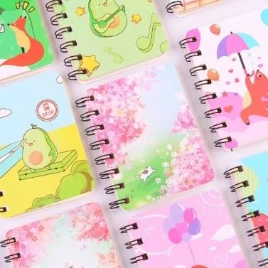 Spiral Notebook Pocket Notebook