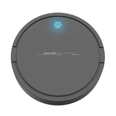 Smart Staubsauger und Wisch Integrierter Mini-Kehrroboter (Papierbox) schwarz)