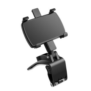 Auto-Armaturenbrett, Handy-Halterung, Multifunktions-Auto-Rückspiegelhalterung, universeller Mittelkonsolen-Navigationsstützrahmen Instrumententafel-Cliphalterung
