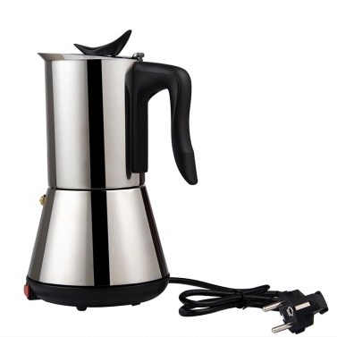 Electric Espresso/Mocha Coffee Maker Stainless Steel Coffee Pot