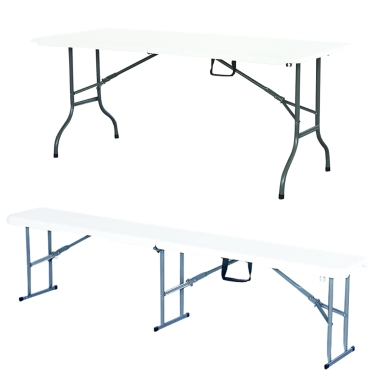 183cm Moistureproof Anti-UV Folding Table