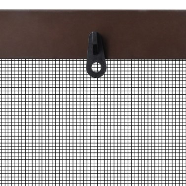 """Brown Insect Screen for Windows 47.2""""x55.1"""""""