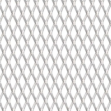 Mesh mat expanded metal stainless steel 100x100 cm 20x10x2 mm