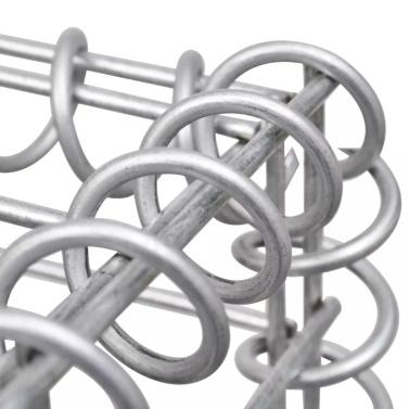 Gabionen Pflanzgefäß Stahl 270x90x100 cm