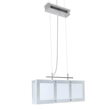 Pendelleuchte Hängelampe Esszimmerlampe Esstisch Glas Leuchte 3 x E14