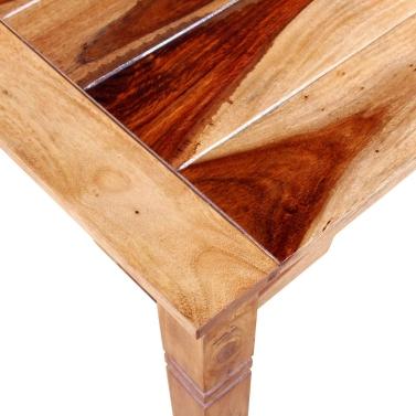 Dining Table Solid Sheesham Wood 82x80x76 cm