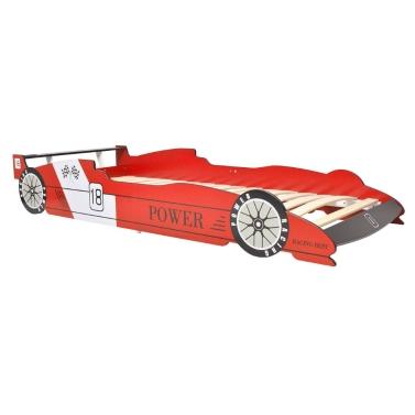 Kinderwagen Bett 90x200 cm Rot
