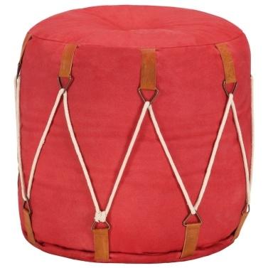 40 x 40 cm Cotton Canvas Soft Chair