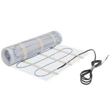 8mu00b2 Underfloor Heating Mat 200W/mu00b2 Twin Touch-screen Thermostat