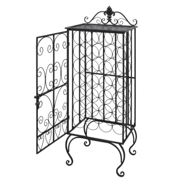 Wine Rack for 28 Bottles Metal