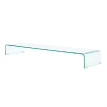Mobile / Boost TV Stand in Transparent Glass 100x30x13 cm