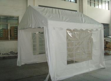 3x3m Outdoor Hochzeitsfeier Zelt Rohr 38mm Weiß