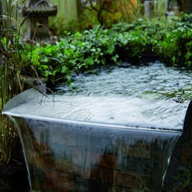 Ubbink Brisbane 60 Stainless Steel Waterfall Blade for Garden Pond