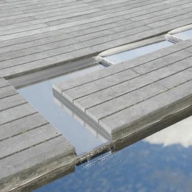 Ubbink Wolga Stainless Steel Cascade Blade Straight Stream