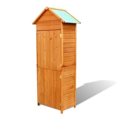 Gartenschrank aus Holz wasserfest