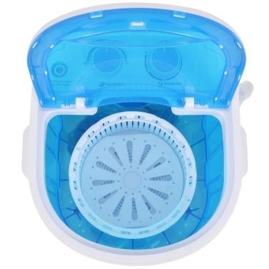 Mini-Waschmaschine mit Schleuder und 1 Kammer 2,6 kg
