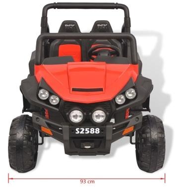 Elektroauto für Kinder 2 Plätze XXL rot und schwarz