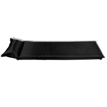 Materassino ad aria autogonfiabile 10 x 66 x 200 cm nero