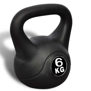 Kettlebell 6 kg 17 x 17 x 26 cm