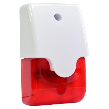 Mini Strobe Siren Sound Light Alarm