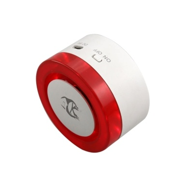 Wifi Alarm System 110dB Flash Strobe Siren Alarm Host Autodial Intercom IOS Android APP Tuya Remote Control Home Burglar Security Alarm System Compatible with Alexa Voice Control