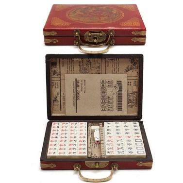 Conjunto de mahjong numerado chinês