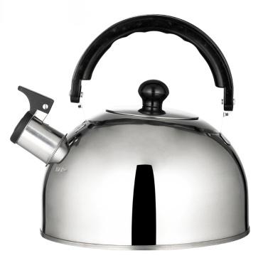 2.5L / 84oz Stainless Steel Lightweight Whistling Tea Kettle Camping Teapot Fast Boil Teakettle