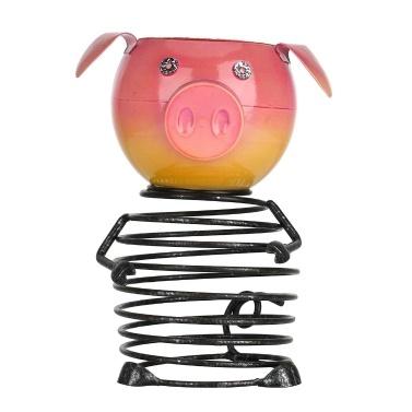 Tooarts Piggy Blumentopf Eisen Piggy Plant Pot