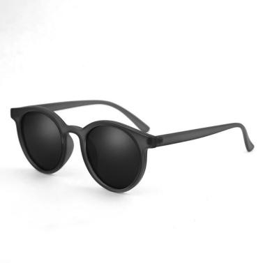 Retro Rodada Borda Moda Rua Snap All-Match Sunglasses