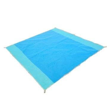 Aktualisierte Strandmatte Sand Free Waterproof Beach Blanket