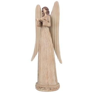 Tooarts Angel Statue Angel Gesangshymnen Resin Art Sculpture