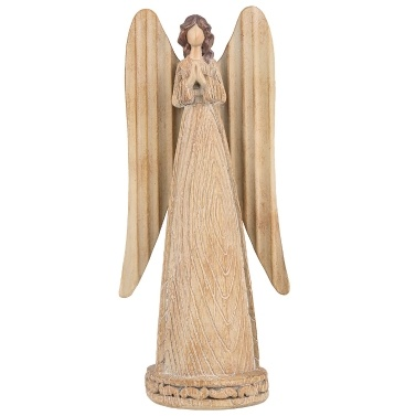 Tooarts Angel Statue Bete Angel Resin Art Skulptur