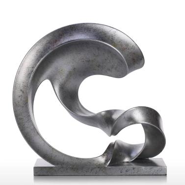 Spoondrift Moderne Skulptur Abstrakte Skulptur Harz Skulptur