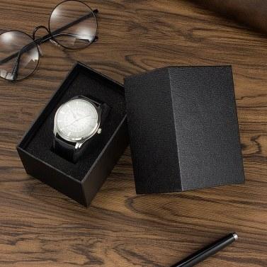 YAZOLE Watch Box Organizer Einzelne Black Box Uhrenverpackungsboxen für Uhrenarmbandschmuck