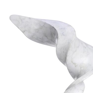 Wind Modern Sculpture Resin Sculpture Abstract Sculpture Marble Base