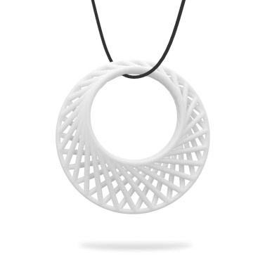 Rhythm Pendant Tomfeel 3D Printed Jewelry Original Design Unique Model