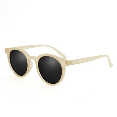 Retro Round Rim Fashion  Street Snap All-Match Sunglasses