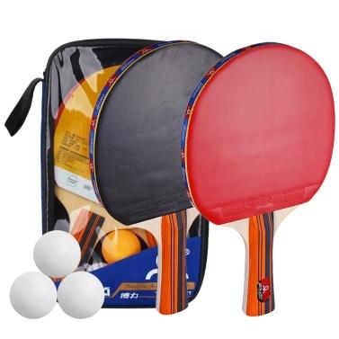 Tischtennisball- und Schlägerset