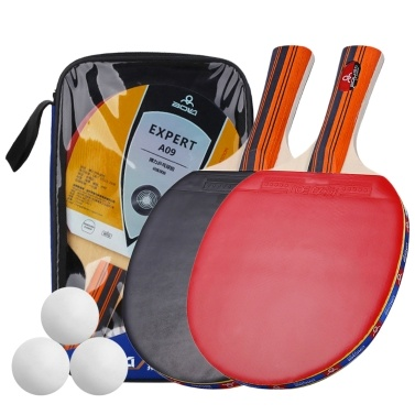 Table Tennis Ball and Bat Set