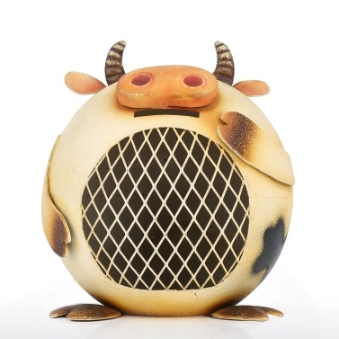 Tooarts Milchkuh Coin Bank Tier Schweinchen