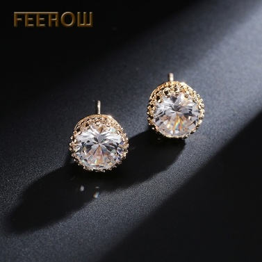 FEEHOW Koreanische Version der meistverkauften eleganten Ohrringe