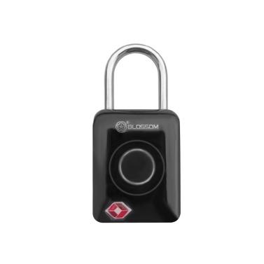 Smart Keyless Fingerprint Padlock Digital Password TSA Approved Lock Smart Keyless Finger Touch Biometric Unlock Waterproof Travel Luggage Bags Suitcases USB Charging