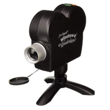 12 film window projector holiday projector lights Christmas Halloween TV new window projector U.S. regulations