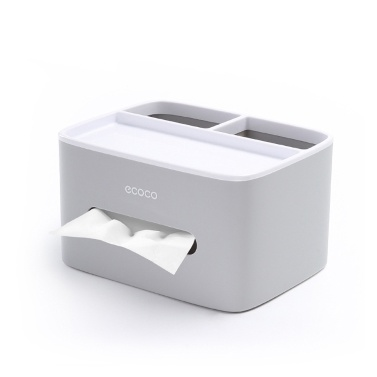 ECOCO Multifunktionale Kosmetiktuchbox Abdeckung Serviettenhalter Spender Aufbewahrungsbox Fall