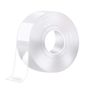Nano Double Sided Tape Heavy Duty Washable Removable Traceless Nano Gel Grip Mounting Tape for Home Office Fix Carpet Mats 2CM*1 Meter/3.28FT