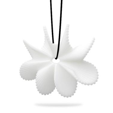 Tomfeel 3D-Druck Schmuck Blume blüht elegante Modellierung Halskette Anhänger Zubehör