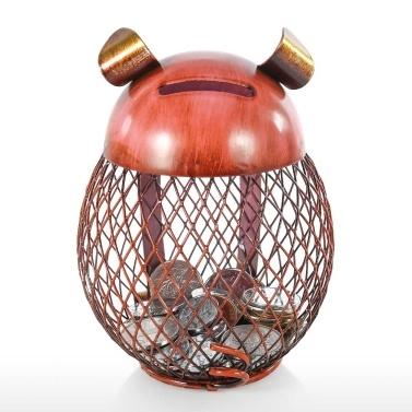Sparschwein Kinder Spielzeug Bank Eisen Münzhalter Junge Mädchen Münze Geld Bargeld Spardose für Dekoration oder Geschenk