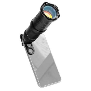 18X-30X Zoombares Smartphone Teleobjektiv Telefon Telelens Kamera Teleobjektiv Teleskop