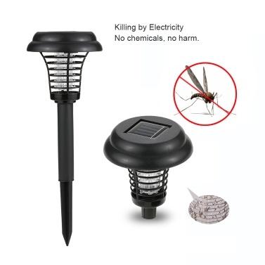 Solar Powered LED Light Bug Zapper